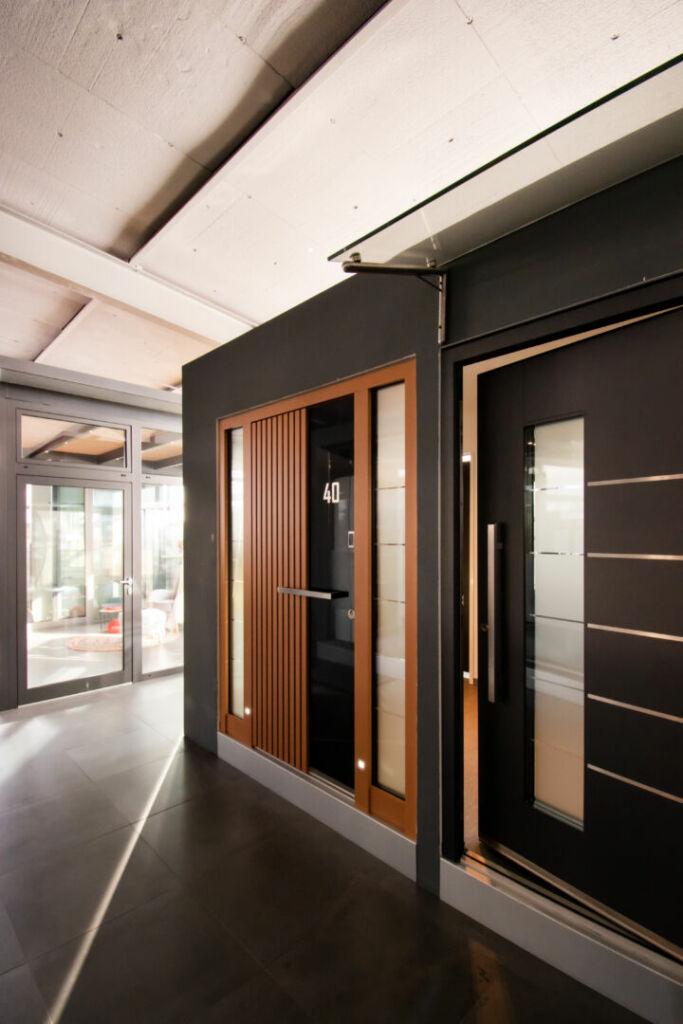 Ausstellung - Bereich Haustüren